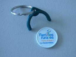 Jeton De Caddie Plastique Familles Rurales La Gaubretière Vendée - Einkaufswagen-Chips (EKW)