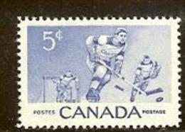 CANADA, 1956, Mint Never Hinged Stamp(s), Ice Hockey, Michel 308, M5439 - 1952-.... Reign Of Elizabeth II