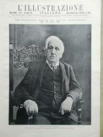 L'Illustrazione Italiana 31 Luglio 1921 Ferdinando Martini Dempsey Bragozzi Boxe - Libri, Riviste, Fumetti