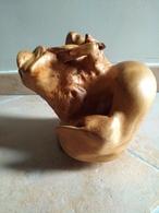 Sculptrice  Vision Différents Animaux - J.Paulhan - Bois