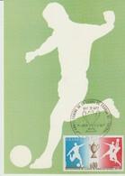 C.P. - PHOTO - CARTE POSTALE 1er JOUR - COUPE DE FRANCE DE FOOTBALL - ANNIVERSAIRE DE LA COUPE DE FRANCE 1917 - 1977 - J - Football