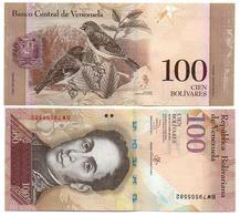 Venezuela - 100 Bolivares 29.10. 2015 UNC Pick 93g Lemberg-Zp - Venezuela