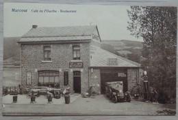 Marcour / Marcourt - Café Restaurant De L'Ourthe / Maison Heiderscheid: Garage-Auto-Moto-Vélo-Réparation-Lo -Voir 2scans - Fernelmont
