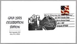 GALA 2003 CELEBRATION - We're Keeping The Ball Rolling - Baloncesto - Basketball. Springwater NY 2003 - Baloncesto