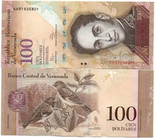 Venezuela - 100 Bolivares 27.12. 2012 UNC Lemberg-Zp - Venezuela