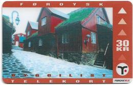 Faroe - Faroese Telecom (Magnetic) - Tinganes - 30Kr. - 13.890ex, Used - Faroe Islands