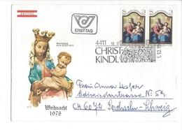 21619 - Christkindl 1978 Lettre Ersttag  Pour Sachseln 01.12.1978 - Noël