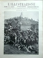 L'Illustrazione Italiana 14 Agosto 1921 Funerali Caruso Lido Venezia Monsumano - Libri, Riviste, Fumetti