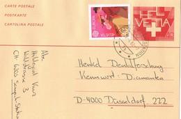 31542. Entero Postal SEMPACH STATION (Sursee) Luzern  1982 - Enteros Postales