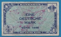 DEUTSCHLAND U.S. ARMY COMMAND 1 Deutsche Mark1948 P# 2a - [ 5] 1945-1949 : Bezetting Door De Geallieerden