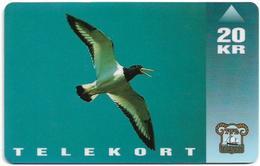 Faroe - Oystercatcher Bird - 20Kr. - 15.000ex, Used - Faroe Islands