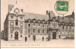 L35B063 - Lisieux - L'Ancien Evéché Et L'Hotel Des Postes - NG N°76 - Lisieux