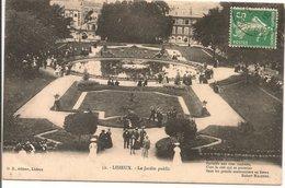 L35B064 - Lisieux - Le Jardin Public  - OB N°52 - Lisieux