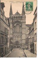 L35B065 - Lisieux - Cathédrale St Pierre - Le Portail Sud   - ND N°450 - Lisieux