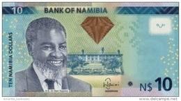 NAMIBIA 10 DOLLARS 2012 P-11 UNC  [ NA209a ] - Namibia