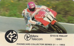 Isle Of Man, 13IOMA, TT Racers 1992,  Steve Hislop, Mint, 2 Scans. - Man (Eiland)