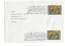 21624 - Christkindl 1976 Lettre Pour Rappenswil 24.12.1976 - Noël