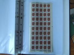 France - Collection De Blasons En Grands Blocs //  Tous **  - All MNH  -  18 Scans - Timbres