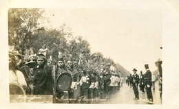 INDIENS Guerriers TLAXCALTEQUES  Carte Photo MEXIQUE    538 - Indianer