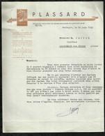 LA PARFUMERIE PLASSARD . BOULOGNE-BILLANCOURT LE : 10 JUIN 1953 . - Chemist's (drugstore) & Perfumery