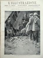 L'Illustrazione Italiana 4 Settembre 1921 Disastro Di Magliana Barania Belgrado - Libri, Riviste, Fumetti