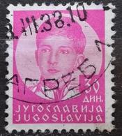 KING PETER II-30 D-ERROR-YUGOSLAVIA - 1935 - 1931-1941 Royaume De Yougoslavie