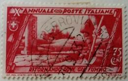 Italie Italy Italia 1932 Paysage Landscape Paesaggio Yvert 314 O Used Usato - 1900-44 Victor Emmanuel III.