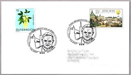 VISITA DE BENEDICTO XVI A AUSTRIA  - Visit Of Benedict XVI To Austria. Wien 2007 - Papas