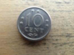 Antilles  Neerlandaises    10  Cents  1976 Km 10 - Netherland Antilles