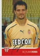 C.P. - PHOTO - A. S. MONACO - SAISON 2003/2004 - FLAVIO ROMA - 30 -  A.S.M. F.C.- FEDCOM - DEDICACEE - STUDIO PHENIX - Football
