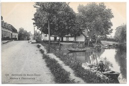 Cpa..environs De Saint-Omer..marais A Clairmarais..animée...(faubourg De Lyzel).. - Saint Omer