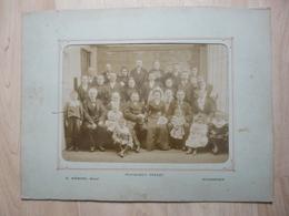 CPA - Photo Ancienne Grand Format Yrondy/Mabire Fougères - Employés Usine Cordier?? - Anonyme Personen