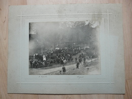 CPA - Photo Ancienne Grand Format Ripoche Fougères - Employés Usine Cordier?? - Anonyme Personen