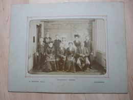 CPA - Photo Ancienne Grand Format Yrondy/Mabire - Fougères - Employés Usine Cordier?? - Anonyme Personen