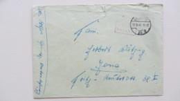 Lokal/Bar: Fern-Brief Chemnitz 10 Barfrankatur-Gebühr Bezahlt-12.9.45 Mit R2Fv, 5 Punkte Nach Kopiak/Skupin Knr: Barfr. - Zone Soviétique