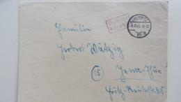 Lokal/Bar: Fern-Brief Chemnitz 10 Barfrankatur-Gebühr Bezahlt- 3.11.45 Mit R2Fv, 5 Punkte Nach Kopiak/Skupin Knr: Barfr. - Zone Soviétique