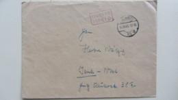 Lokal/Bar: Fern-Brief Chemnitz 10 Barfrankatur-Gebühr Bezahlt-16.10.45 Mit R2Fr, 5 Punkte Nach Kopiak/Skupin Knr: Barfr. - Zone Soviétique
