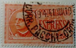Italie Italy Italia 1932 Victor Emmanuel III Expres Espresso Yvert E20 O Used Usato - Eilsendung (Eilpost)