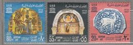 EGYPT/ UAR 1967 UNESCO MNH(**) Mi 338-340 #23900 - Neufs