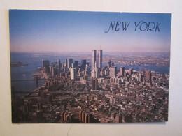 Etats Unis Aerial View Of Lower New York Skyline - New York City