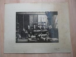 CPA - Photo Ancienne Grand Format R.Ripoche - Fougères - Bureau Usine Cordier?? - Anonyme Personen