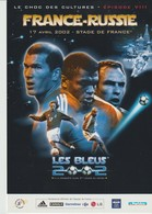 C.P. - PHOTO - FRANCE RUSSIE - LE CHOC DES CULTURES - EPISODE VIII - 2002 - STADE DE FRANCE - LES BLEUS - - Football