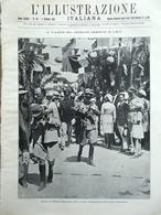 L'Illustrazione Italiana 2 Ottobre 1921 Nazario Sauro Terremoto Eritrea Nazzaro - Libri, Riviste, Fumetti