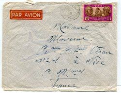 Yvert 160 Seul Sur Lettre - Cote Maury 150 Euros - R 5602 - Briefe U. Dokumente