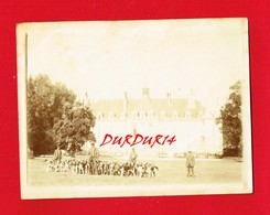 52 Haute Marne  ARC EN BARROIS Rare Photo Du Château écrite En 1895 Par Le Maître Des Lieux Jour De Chasse à Courre - Arc En Barrois
