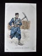 Paris Hergestellt Frankreich SAPEUR DU GENIE  Ca. 1910 ? Sammlungsauflösung - Uniformen