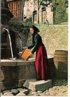 """L35B084 -  La Corse Inoubliable - Groupe Folklorique """"An Manella"""" - A La Fontaine - Personnages"""