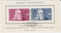 Switzerland 1948 Imaba M/s Used Imaba (42172) - Blokken