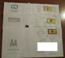 Italia 2006 Storia Postale (Sass. 2932A) Lotto 3 Buste 0,60 Prioritaria Isolato Su Busta - 6. 1946-.. Repubblica