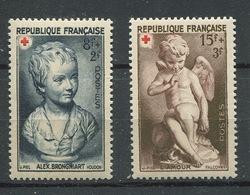 France 1950 - N° 876 & 877 - Au Profit De La Croix Rouge - Neufs ** - France